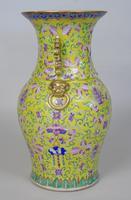 19th Century Chinese Porcelain Vase Famille Jaune (6 of 10)