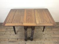 Early 20th Century Antique Oak Gateleg Table (5 of 9)