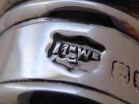 Mappin & Webb Walking Stick Cane 1901 Solid Silver Pommel Ebonised Shaft (8 of 10)