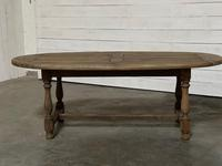 Super Rustic French Oval Farmhouse Dining Table (5 of 36)
