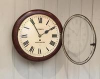 Mahogany Fusee Dial Clock (2 of 19)