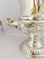 Superb Silver Plated Wine Cooler (5 of 10)