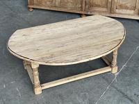 Bleached Oak Drop Flap Coffee Table (9 of 17)