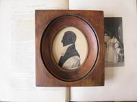 Late Georgian Clergyman Hand Painted Silhouette (4 of 4)