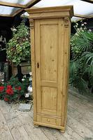 Gorgeous Old Stripped Pine Cupboard / Cabinet / Wardrobe - Hall / Linen / Larder (7 of 11)