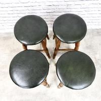 Set of 4 Vintage Bar Stools (3 of 4)