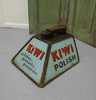 Kiwi Boot Polish Advertising Shoe Cleaning Box with Shoe Rest (4 of 6)