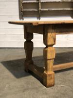Rustic French Oak Farmhouse Dining Table (3 of 26)