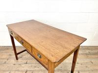 Antique Mahogany Side Table with Drawers (8 of 10)