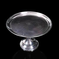 Antique Cake Stand, English, Silver Plate Serving Dish, Afternoon Tea, Victorian (2 of 8)