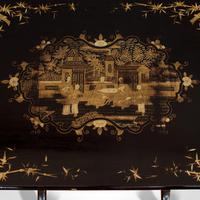 Antique Nest Of Occasional Tables, Oriental, Trio, Japanned, Victorian c.1880 (9 of 12)