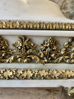 19th Century French White Marble Stand with Ormolu Decoration (8 of 8)