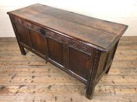 Antique Carved Oak Coffer (11 of 13)