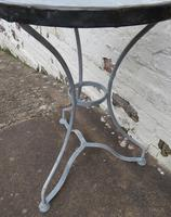 French Iron & Marble Bistro Table Mid 19th Century (12 of 12)