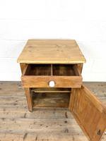 Rustic Antique Pine Side Cupboard (6 of 8)
