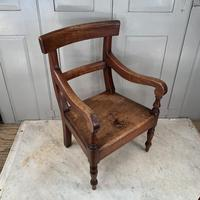Antique Georgian Childs Mahogany Chair (2 of 10)