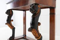 Early 19th Century Walnut Console Table with Marble Top (5 of 7)