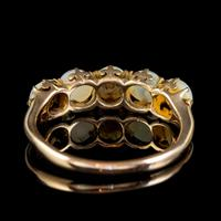 Antique Victorian Pearl Ring 15ct Gold c.1900 (4 of 6)