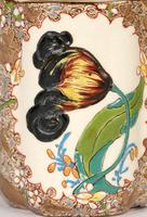 Zsolnay Pecs Hungarian Hand Painted Floral Cabinet Cup & Saucer c.1890 (5 of 16)
