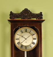 Early Biedermeier Vienna Regulator Wall Clock - Silk Suspension (6 of 7)