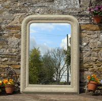 Antique Painted French Mirror (4 of 6)