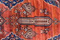 Old Afshar Carpet 305x209cm (9 of 9)