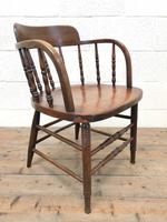 Antique Smoker's Bow Chair (7 of 9)