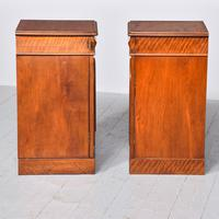 Pair of Victorian Mahogany Bedside Cabinets (8 of 9)