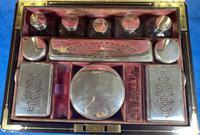 Georgian  Rosewood Brassbound Vanity Box (19 of 34)