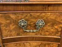 Good Queen Anne Style Burr Walnut Writing Desk (4 of 18)