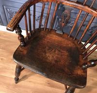 Low Back Ash & Elm Windsor Chair (7 of 8)