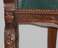 Carved Oak Victorian Desk Chair (8 of 9)