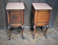 Pair of Substantial Oak Bedside Cabinets (6 of 9)