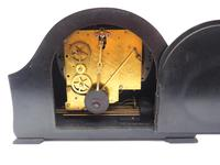 Very Good Arched Top Art Deco Mantel Clock – Musical Westminster Chiming 8-day Mantle Clock (8 of 8)