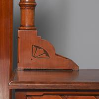 Victorian Gothic Revival Walnut Dressing Table (7 of 16)