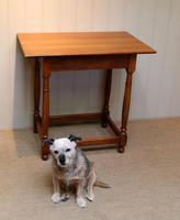 Light Oak Side Table (2 of 8)