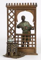 Franz Xavier Bergmann Austria Cold-painted Bronze Coffee Vendor Inkwell Figure (12 of 24)
