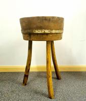 French Butchers Chopping Block (4 of 12)