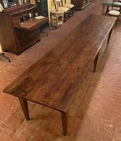 Large Monastery Table From 4m Long-19th Century-netherlands (8 of 9)