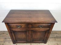 Antique Oak Dresser Base Sideboard (3 of 10)
