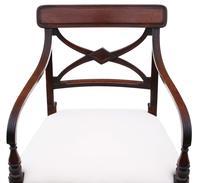 Georgian Quality Set of 8 Mahogany Dining Chairs c.1800 (8 of 12)