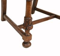 Set of Oak Dining Chairs English Antique Farmhouse Furniture (8 of 13)