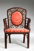 Chippendale Design Armchair - Chinese Period (2 of 6)