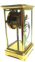 Fine  Antique French Table Regulator with Compensating Pendulum 8 Day 4 Glass Mantel Clock (11 of 11)