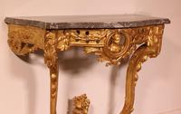 Giltwood Console From The 18th Century - Transition Period (louis XV-louis XVI) -france (6 of 13)
