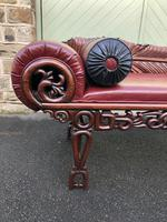 Antique Oriental Chinese Opium Day Bed (10 of 11)