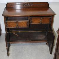 1920's Sideboard / Cupboard with Drawers (3 of 4)