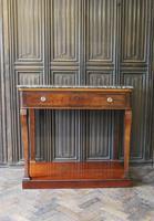 French Mahogany Console / Hall Table (6 of 6)
