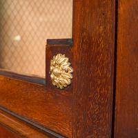 Antique Raised Pier Cabinet, English, Mahogany, Display Case, Edwardian, C.1910 (10 of 12)
