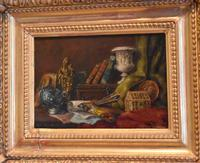 Pair of Still-life Oil Paintings by A Bonnefoy (8 of 13)